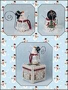 Frosty Chillingsworth Mouse - Cross Stitch Pattern