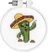 Carlos The Cactus - Cross Stitch Kit
