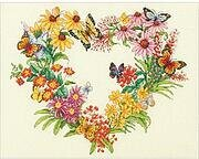 Wildflower Wreath - Cross Stitch Kit