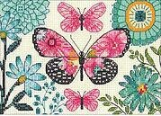 Butterfly Dream - Cross Stitch Kit