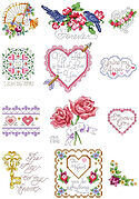 Valentine Collection - Cross Stitch Pattern