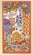 Honey Bee Happening - Cross Stitch Pattern