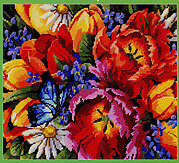 Spring Favorites - Cross Stitch Pattern