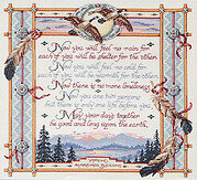 Apache Wedding Blessing - Cross Stitch Pattern