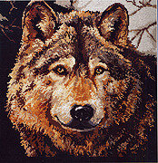 Wolf - Cross Stitch Pattern