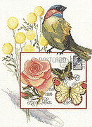 Botanical Birds - Cross Stitch Pattern