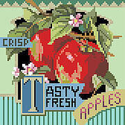 Tasty Fresh Apples - Cross Stitch Pattern