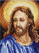 Portrait of Christ - Cross Stitch Pattern