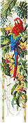 Tropical Bell Pull - Cross Stitch Pattern