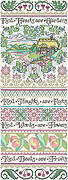 Garden of Kindness Sampler - Cross Stitch Pattern