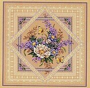 Flowers and Lace - Cross Stitch Pattern