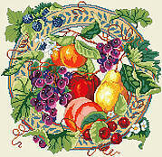 Array of Fruit - Cross Stitch Pattern