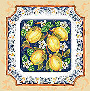 Italian Lemons - Cross Stitch Pattern