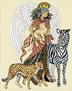 African Angel - Cross Stitch Pattern