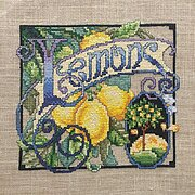 Lemons - Cross Stitch Pattern