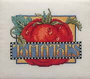 Tomatoes - Cross Stitch Pattern