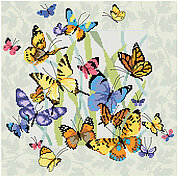 Butterfly Collage - Cross Stitch Pattern