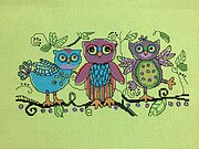 Sketchy Owls - Cross Stitch Pattern