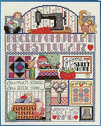 Stitching Sampler - Cross Stitch Pattern
