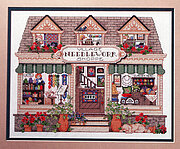 Needlepoint Shoppe - Cross Stitch Pattern