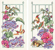 Morning Dew Pair - Cross Stitch Pattern