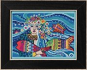 Ocean Goddess - Cross Stitch Kit