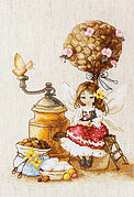 Coffee Fairy - Cross Stitch Kit