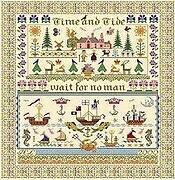 Time & Tide - Cross Stitch Pattern
