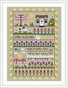Spring Awakening - Cross Stitch Pattern