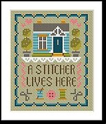 Home of a Stitcher - Cross Stitch Pattern