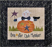 Boo-ster Club - Lizzie Kate Halloween Cross Stitch Pattern