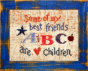Best Friends - Cross Stitch Pattern