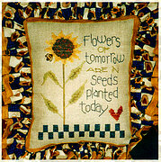 Flowers of Tomorrow - Cross Stitch Pattern