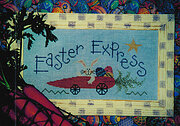 Easter Express - Cross Stitch Pattern