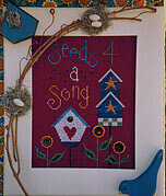 Seeds 4 a Song - Cross Stitch Pattern