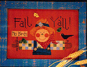 Fall Y'all - Cross Stitch Pattern