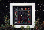 All Things Christmas - Cross Stitch Pattern