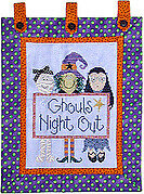 Ghouls Night Out - Cross Stitch Pattern
