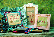 Stitching Friends - Cross Stitch Pattern