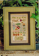 Garden Sampler (with charms) - Cross Stitch Pattern