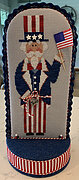 Liberty Sam (with 9 Embellishments) - Cross Stitch Pattern