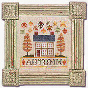 Autumn Cottage - Cross Stitch Pattern