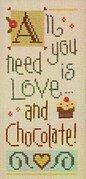 All You Need is Love  Boxer Kit - Cross Stitch Kit