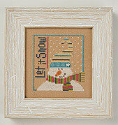6 Fat Men Series - Let it Snow - Cross Stitch Pattern