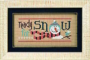 6 Snow Belles - Ready for Snow - Cross Stitch Pattern