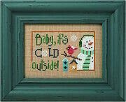 6 Snow Belles - Baby It's Cold Outside Cross Stitch Pattern