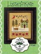 4 Seasons Flip-It Winter  - Cross Stitch Pattern