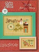 Yearbook - January & February - Cross Stitch Pattern