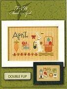 Yearbook - March & April - Cross Stitch Pattern