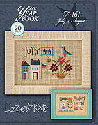 Yearbook - July & August - Cross Stitch Pattern